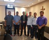 Vereadores em Reunião com o Secretário de Segurança Pública