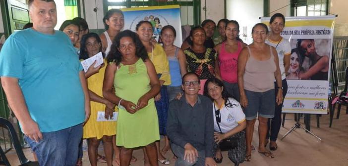 Vereador Marcus Participa Ação Social Mulher no KM 69
