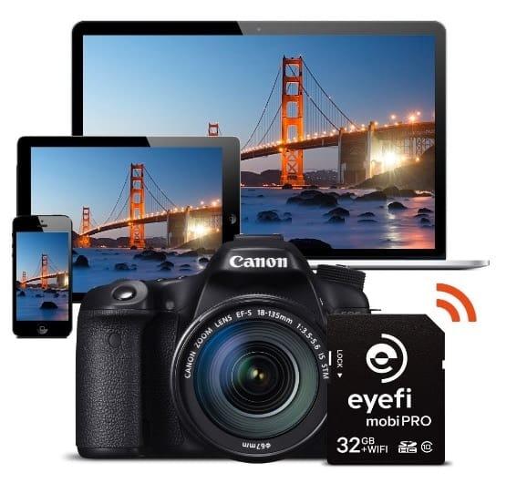 Tarjeta WIFI Eye-Fi MobiPro (32GB)
