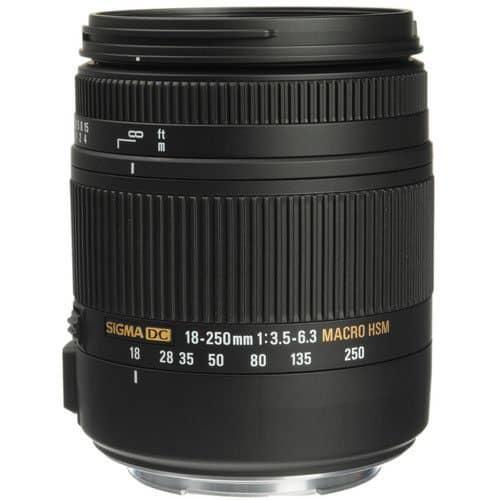 Sigma 18-250mm f/3.5-6.3 DC Macro OS HSM