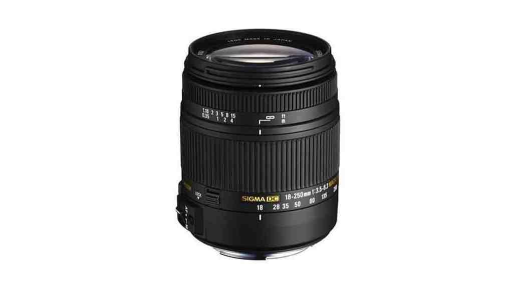 Objetivo todoterreno Sigma 18-250mm para Nikon, Canon, Sony o Pentax