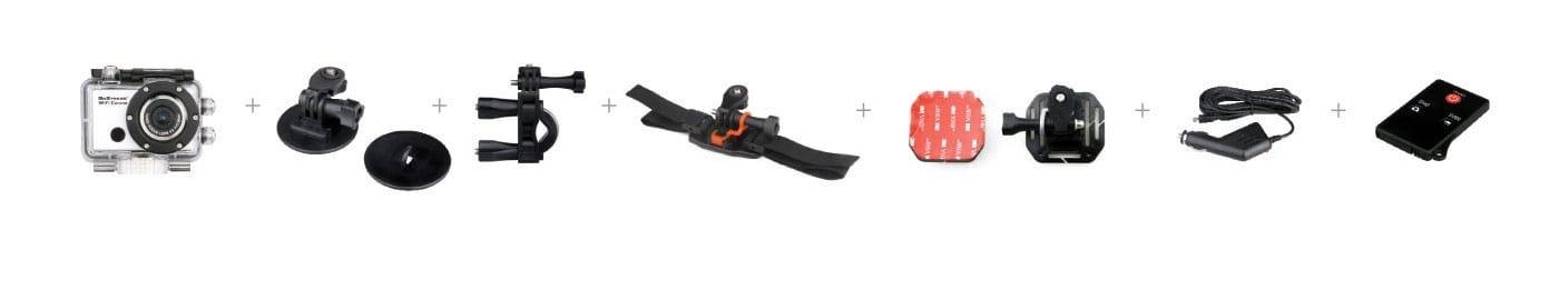 Easypix GoXtreme WIFI Control (cámara deportiva) accesorios
