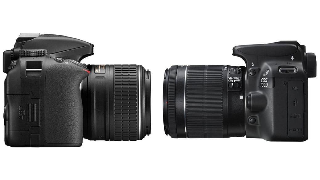 Canon vs Nikon: comparativa de cámaras fotográficas digitales DSLR (Réflex)