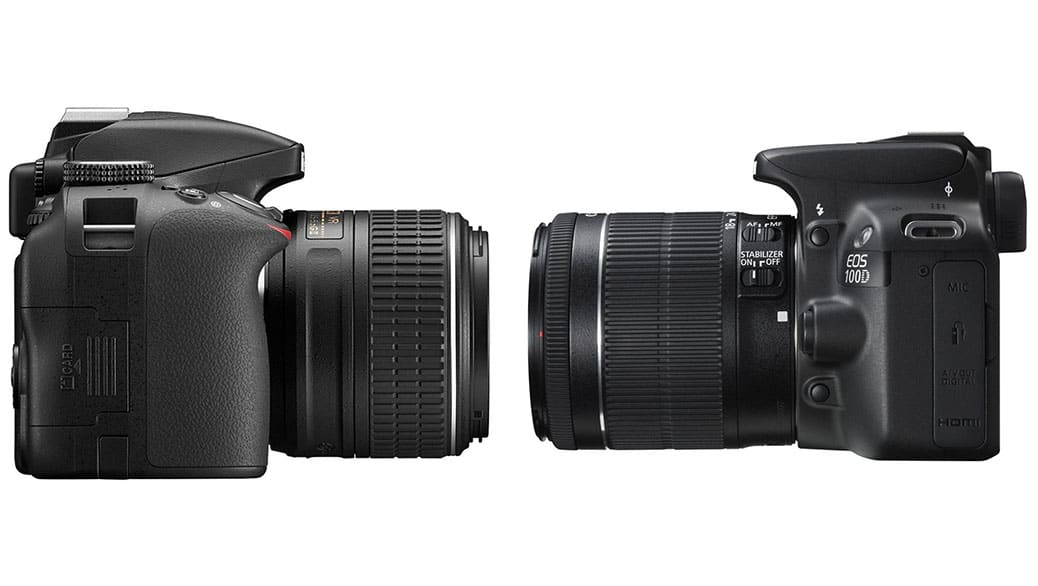 Canon vs Nikon: comparativa de cámaras fotográficas digitales DSLR ...