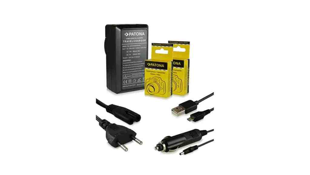 Cargador con baterías para cámaras Nikon por un precio realmente razonable