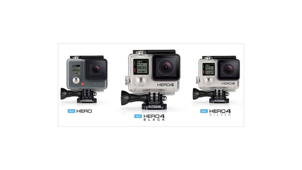 Las nuevas cámaras GoPro Hero (2014-2017): Opinión - ¿Cuál es la mejor para mi?