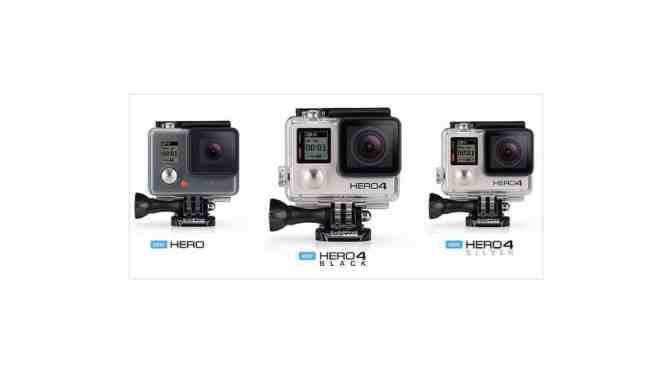 Las nuevas cámaras GoPro Hero (2014): Opinión - ¿Cuál es la mejor para mi?