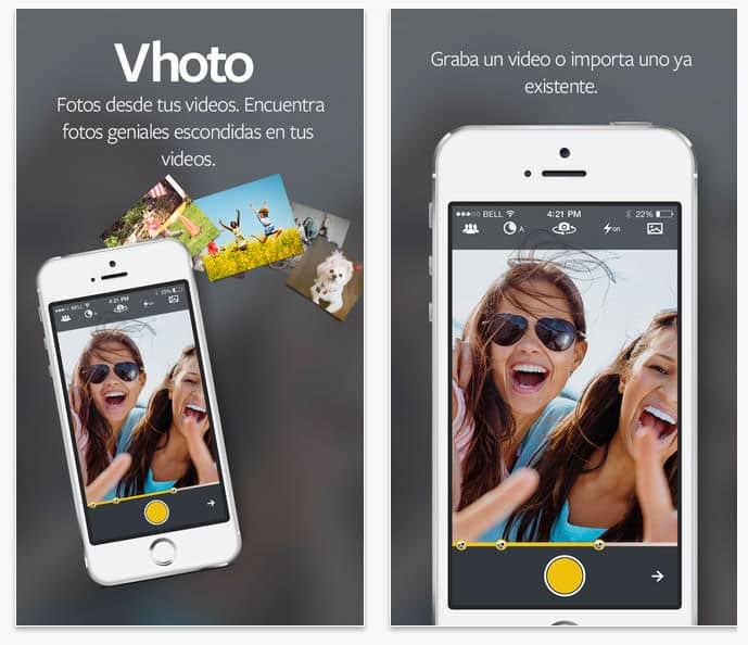 Vhoto – Fotos desde tus vídeos