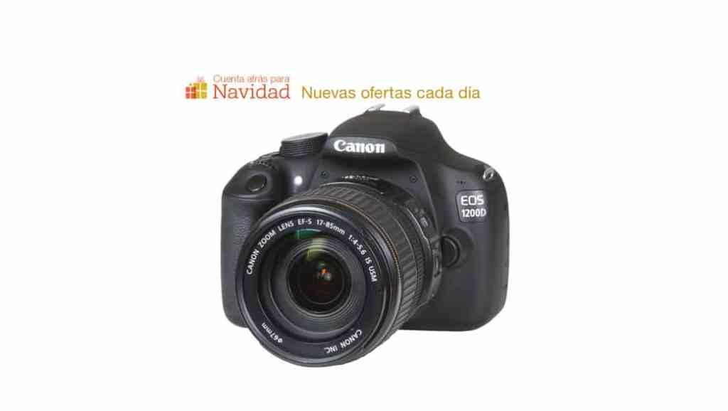 Cuenta atrás para Navidad - Regalos en oferta: Canon EOS 1200D