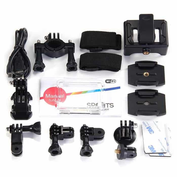 SJCAM SJ5000 WiFi Novatek 96655 accesorios