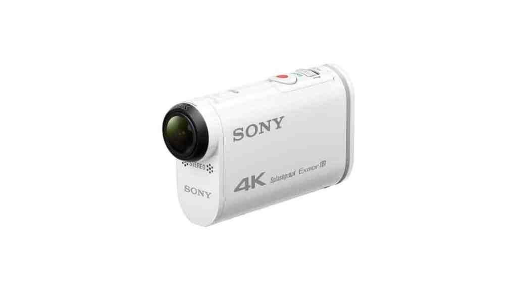 Sony FDR-X1000VR, la nueva cámara de acción de Sony que graba en 4K