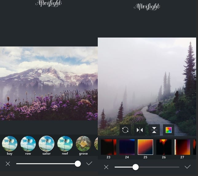 afterlight app iphone