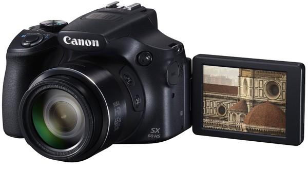 ¿Qué cámara superzoom debería de comprar en 2015? Canon PowerShot SX60 HS