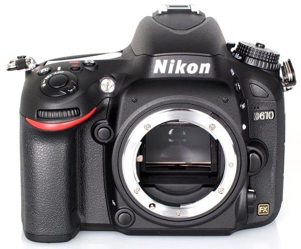 Cámaras Nikon DSLR de gama media: Nikon D610
