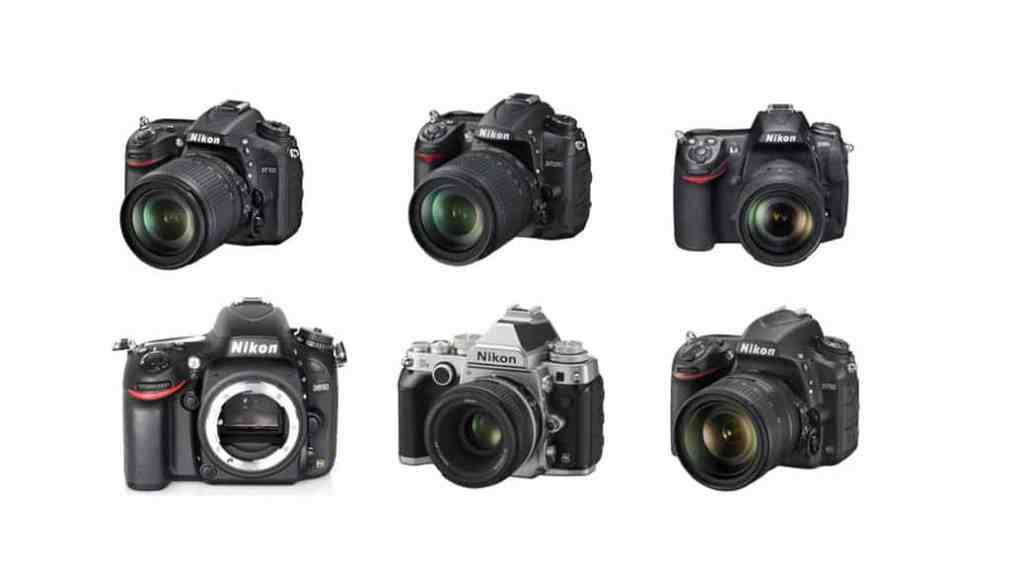 Cámaras Nikon DSLR de gama media