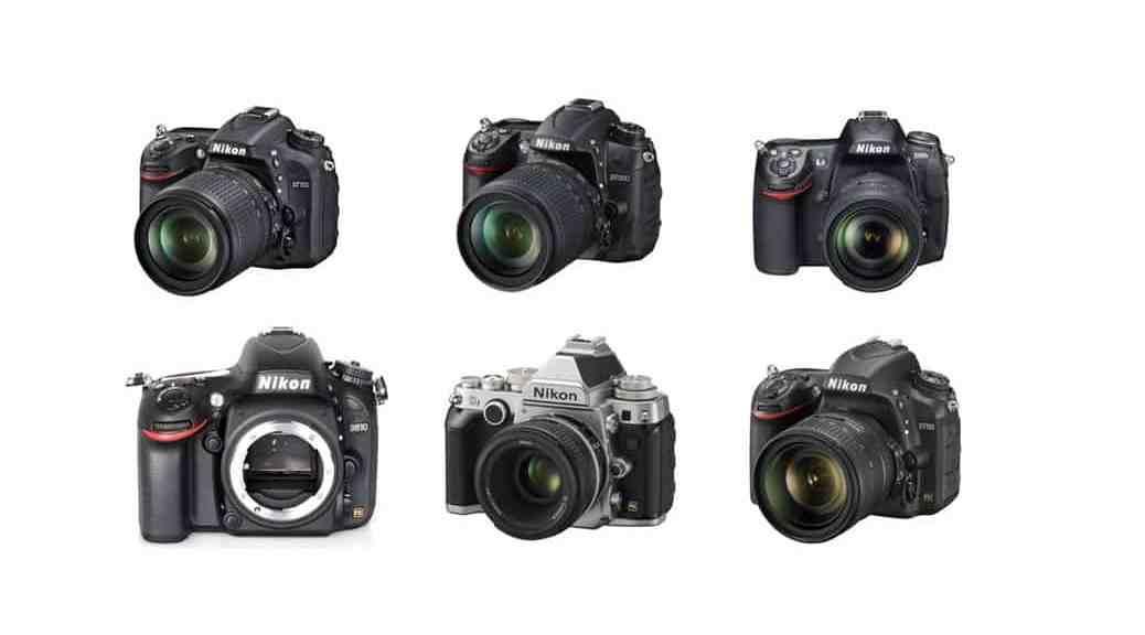 Cámaras Nikon DSLR de gama media (2015)