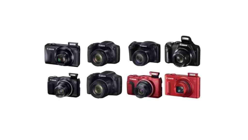 Cámaras de Canon: cámaras bridge y superzoom (2015)