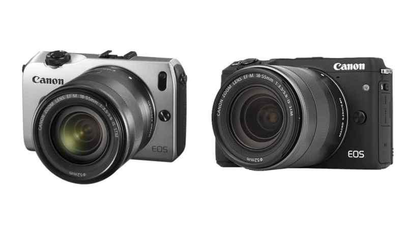 Cámaras de Canon: cámaras CSC (2015)