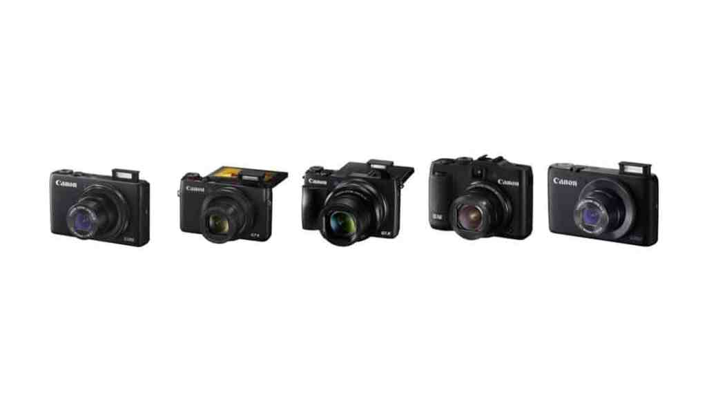 Cámaras de Canon: cámaras compactas avanzadas (2015)