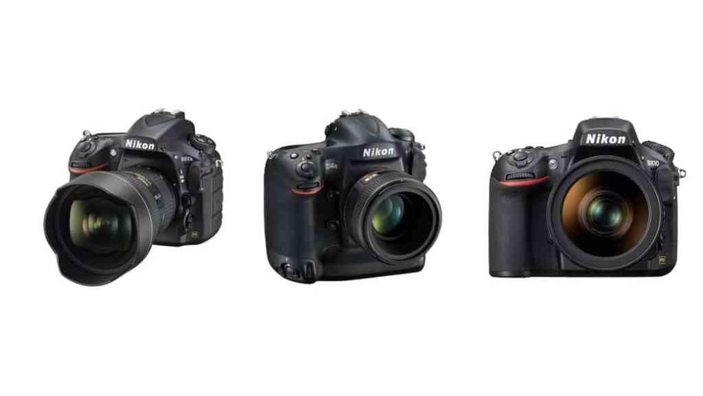 Cámaras Nikon DSLR para profesionales