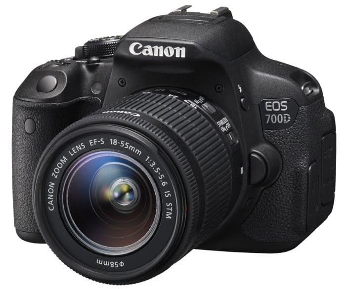 Cámaras Canon DSLR: Canon EOS 700D