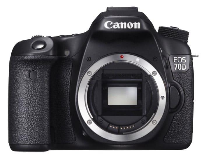 Cámaras Canon DSLR: Canon EOS 70D