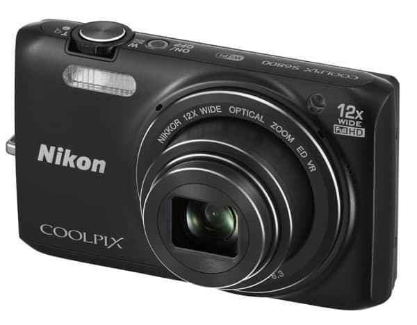 Cámaras compactas de Nikon: Coolpix S6800
