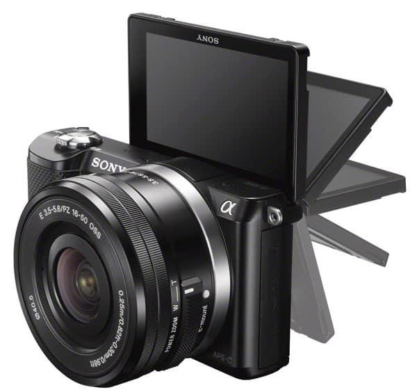 Las 6 mejores cámaras por menos de 400 euros: Sony Alpha 5000 (354 euros)