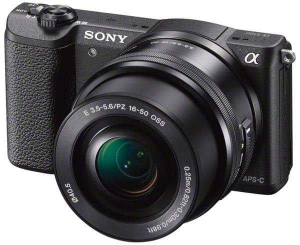 Cámaras CSC Sony: Sony A5100