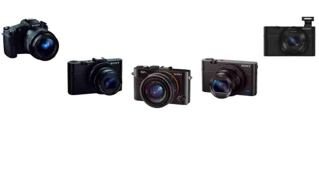 Cámaras de Sony: cámaras compactas avanzadas
