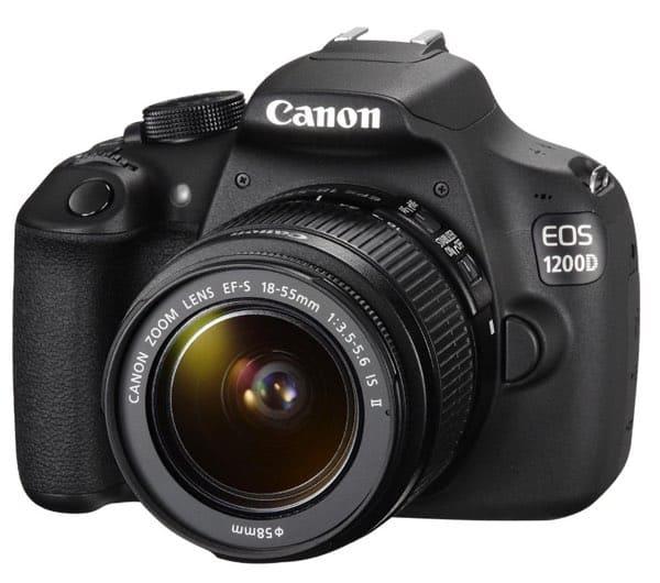 Las 6 mejores cámaras por menos de 400 euros: Canon EOS 1200D (348 euros)