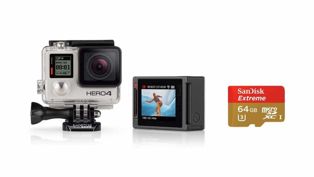 Cuáles son las mejores tarjetas micro SD para las cámaras aventura GoPro HERO5 - HERO4 - HERO3 - HERO