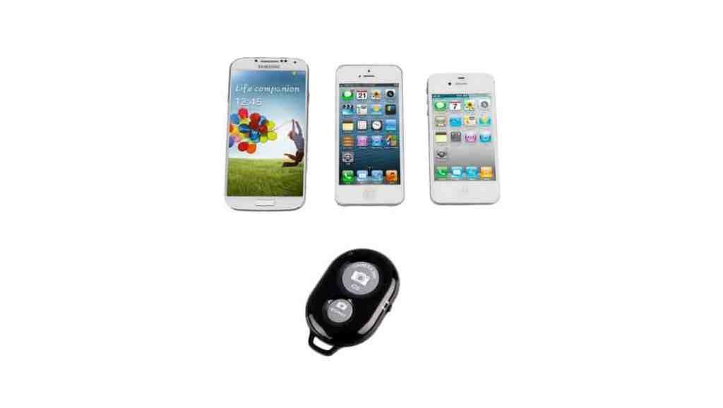 Disparador de fotos inalámbrico para smartphones: Ckeyin o XCSOURCE