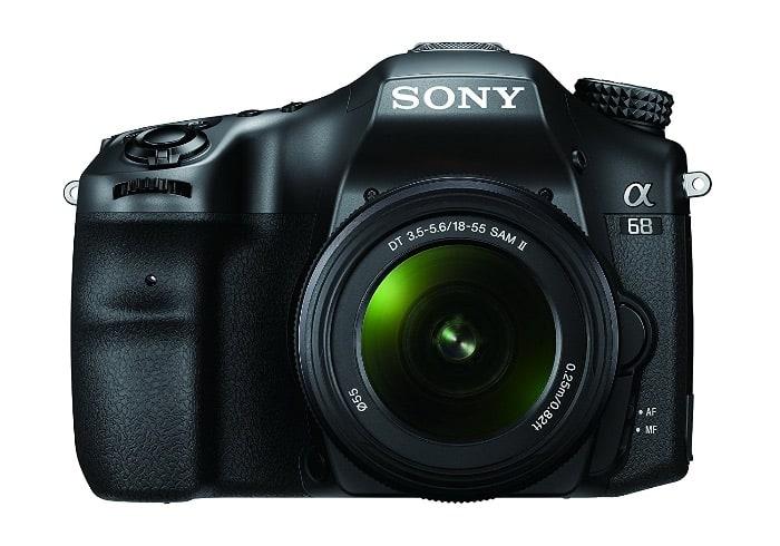 Cámaras de Sony DSLT:Sony SLT-A68