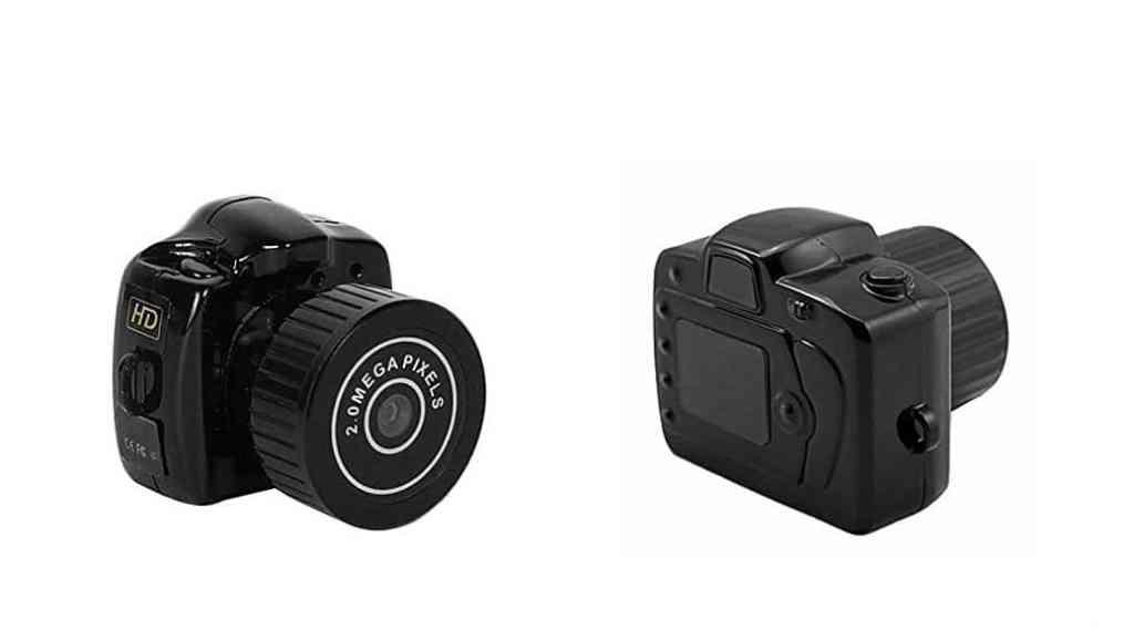 La cámara espía más pequeña (y barata): Jiam Y2000 HD Mini Video Recorder