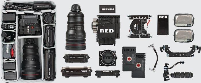 Lowepro Pro Roller X300 AW con equipo de vídeo