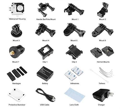 accesorios Jiam W9 HD