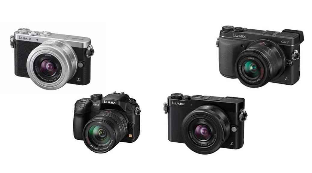 Todas las cámaras EVIL de Panasonic