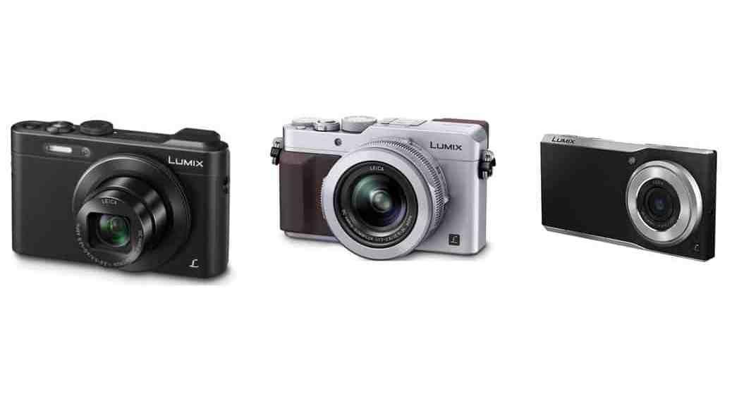 Todas las cámaras compactas de gama alta de Panasonic