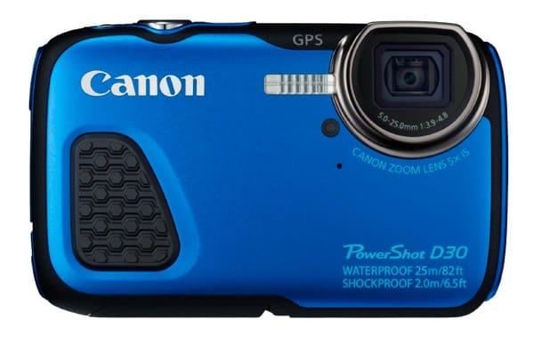 Las mejores cámaras acuáticas: Canon PowerShot D30