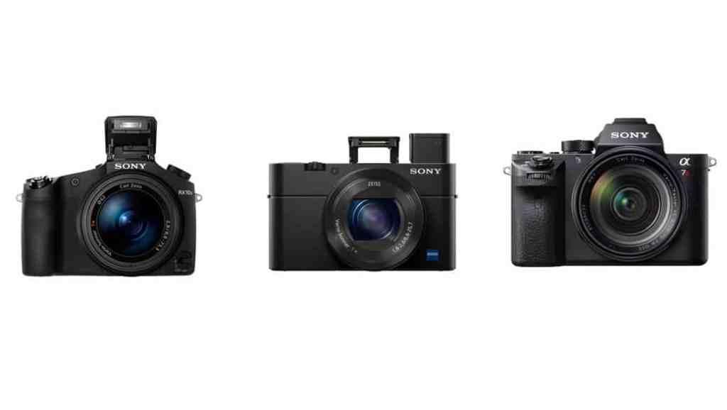 Sony RX100 IV, Cyber-shot RX10 II y a7R II: las tres nuevas cámaras de Sony