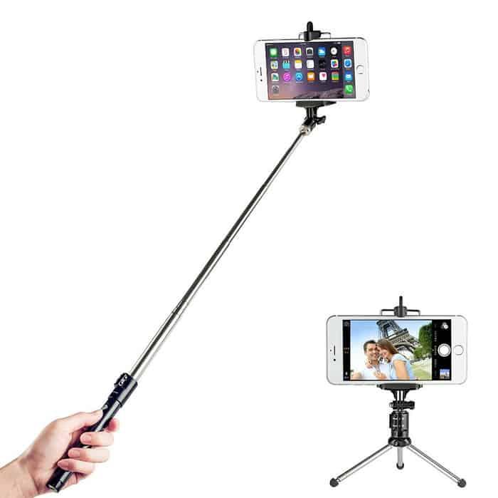 TaoTronics - Palo de selfies extensible con Bluetooth