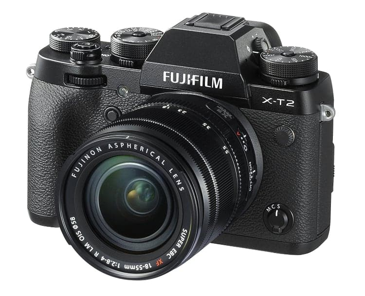 Cámaras CSC (EVIL) de Fuji:Fujifilm X-T2