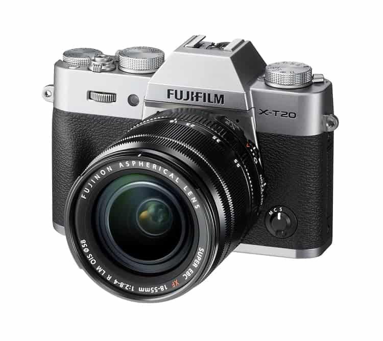 Cámaras CSC (EVIL) de Fuji:Fujifilm X-T20