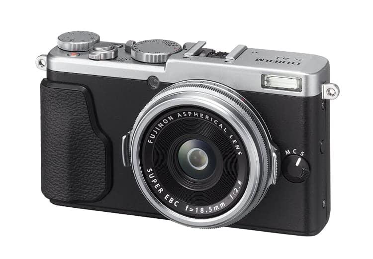 Cámaras compactas premium de Fuji:Fujifilm X70