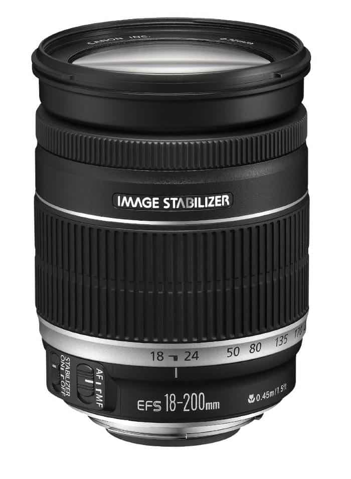 Canon EF-S 18‑200mm f/3.5-5.6 IS - Objetivo superzoom