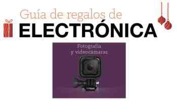 Guía de regalos de electrónica para Navidad: Fotografía y videocámaras