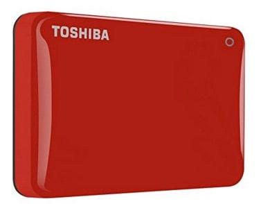 Toshiba Canvio Connect II: Disco duro rebajado de precio porque es rojo