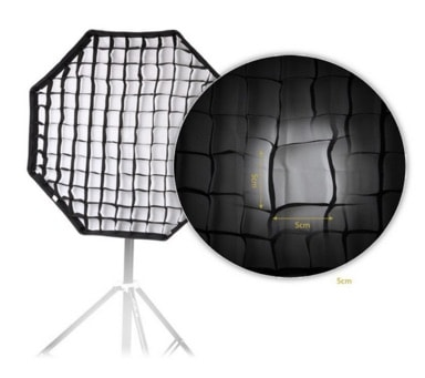 Andoer 80cm - Caja de luz Paraguas/Reflector/Difusor Octágono