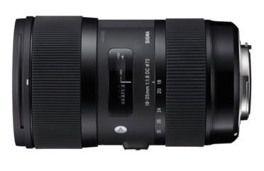 Los objetivos de Nikon que debes comprar: Sigma 18-35mm F1,8 DC HSM